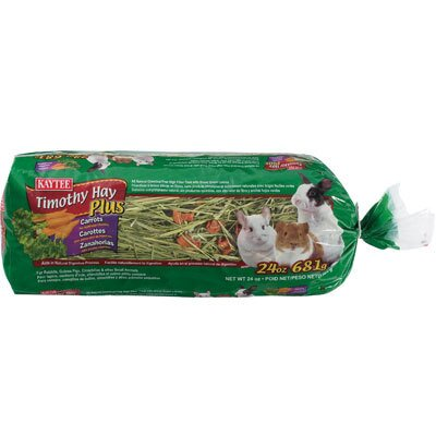 Kaytee Products Wild Bird Timoth Hay Plus Pet Treat
