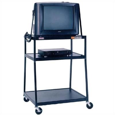 VTI 2-Shelf Wide Body TV Cart