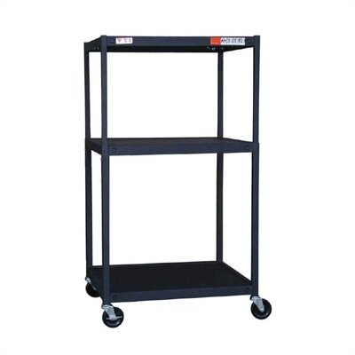 VTI TV Cart Multi-Function Adjustable Cart
