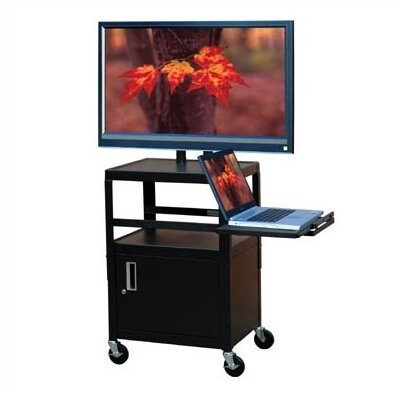 "VTI TV Cart  with Storage Cabinet for up to 32"" Flat Panel TVs"