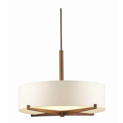 "Philips Forecast Lighting 25"" Organic Modern Drum Pendant Shade"