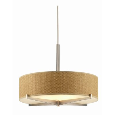 Philips Forecast Lighting Organic Modern Fisher Island Drum Pendant Shade