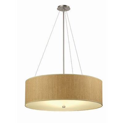 Philips Forecast Lighting Organic Modern Taylor Pendant Shade in Natural Grasscloth