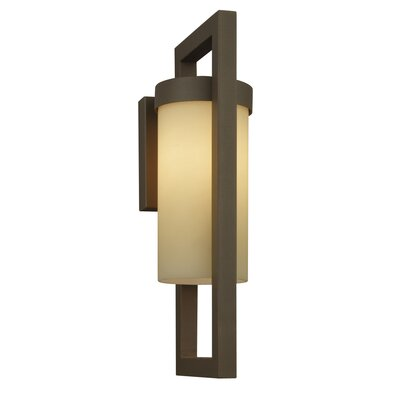 Philips Forecast Lighting City One Light Outdoor Wall Lantern in Graphite