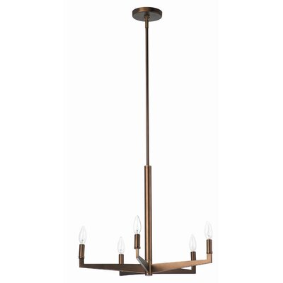 Philips Forecast Lighting Fisher Island 5 Light Chandelier