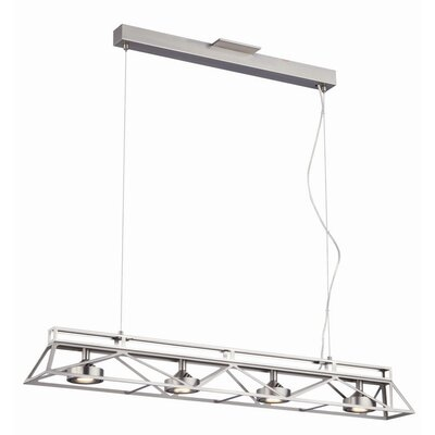Bridge 4 Light Kitchen Island Pendant