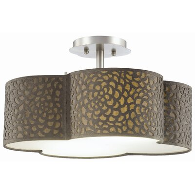 Noe 2 Light Ceiling Lamp