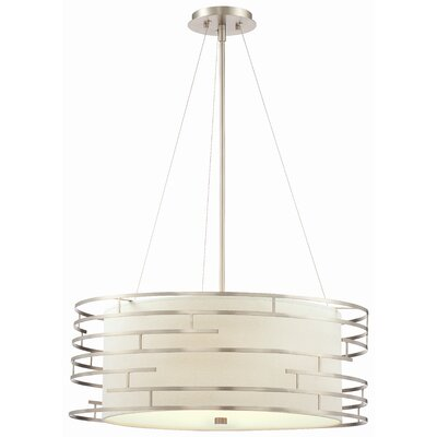 Philips Forecast Lighting Labyrinth 3 Light Drum Pendant