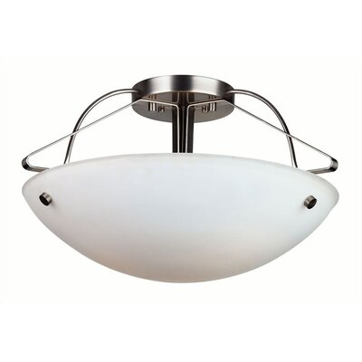 Philips Forecast Lighting Orb Semi Flush Mount