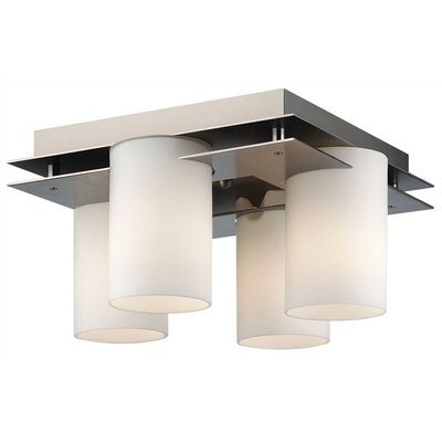 Philips Forecast Lighting Ingo 4 Light Semi Flush Mount