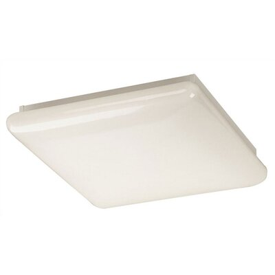 Clouds Square Shaped Flush Mount - Energy Smart