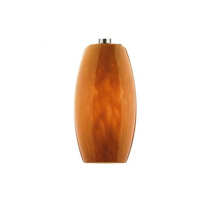 Philips Forecast Lighting Wishes Pendant Shade in Amber Cirrus Glass with Holder Options
