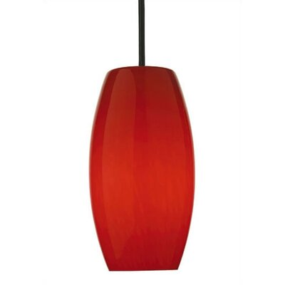 Philips Forecast Lighting Wishes Pendant Shade in Red Cirrus Glass with Holder Options