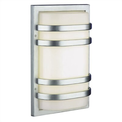 Philips Forecast Lighting Westport Outdoor Wall Fixture in Vista Silver - Engery Smart