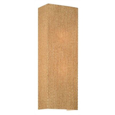 Philips Forecast Lighting Manhattan Wall Sconce in Natural Grasscloth