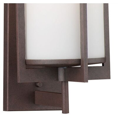 Philips Forecast Lighting Weston Medium Outdoor Wall Sconce in Bronze