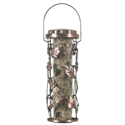 Woodstream Wildbird Meadow Feeder in Copper