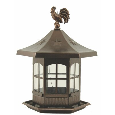 Woodstream Wildbird Cupola Bird Feeder in Brown