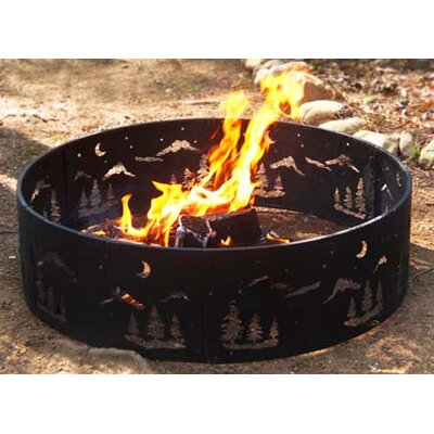 Corral Steel Wilderness Fire Ring