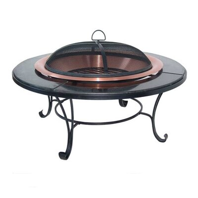 Corral Granite Table Copper Fire Pit
