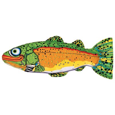 Incredible Strapping Yankers Trout Dog Toy