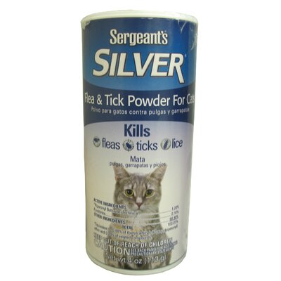 Sergeant's Silver Flea and Tick Powder