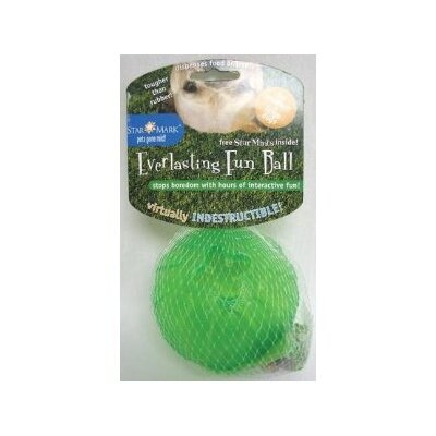Medium/Large Everlasting Fun Ball Dog Toy in Green