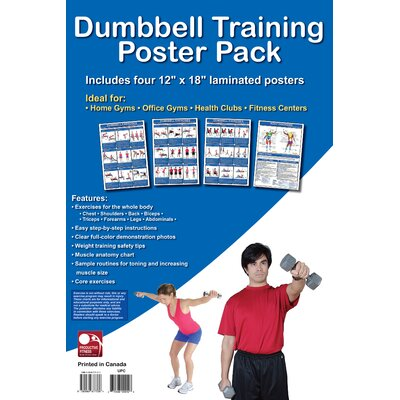 Productive Fitness Publishing Dumbbell Training Poster Pack