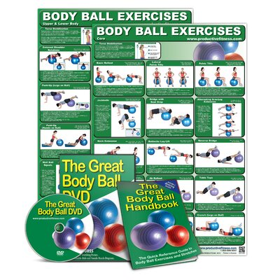 Productive Fitness Publishing The Ultimate Body Ball Set