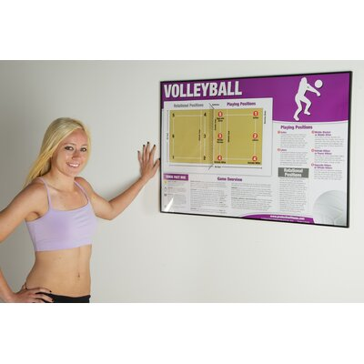 Productive Fitness Publishing Volleyball Poster