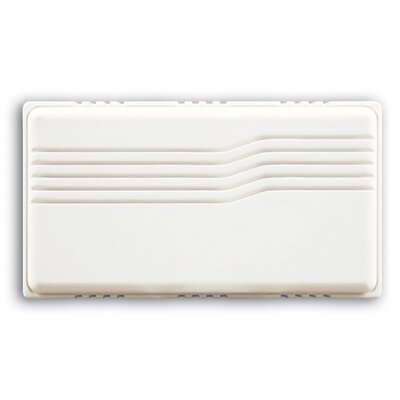 Basic Series Wired Door Chime with White Cover