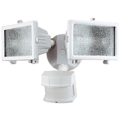 heath zenith 200 watt motion activated twin security light reviews. Black Bedroom Furniture Sets. Home Design Ideas
