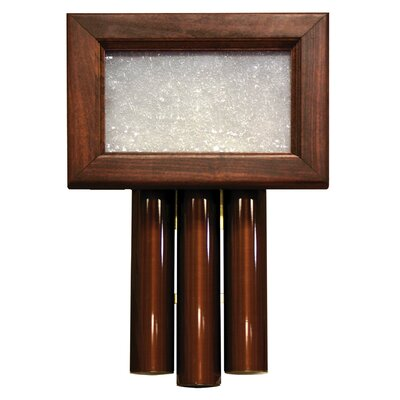 Heath-Zenith Wired Door Chime with Solid Beech Mahogany Cover