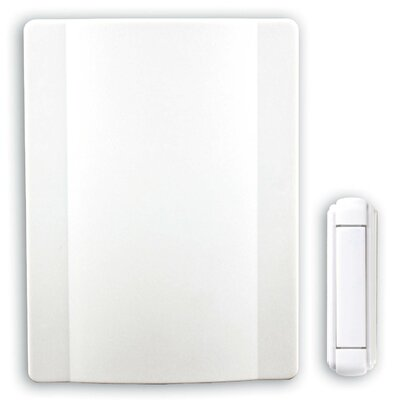 Wireless Battery Operated Door Chime Kit with Genuine Bell Sound