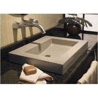 Swanstone Metropolitan Palladio Above Counter Bathroom Sink