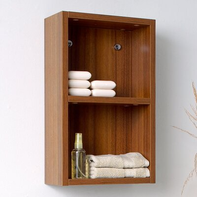 "Fresca 11.88"" x 19.63"" Bathroom Linen Side Cabinet"