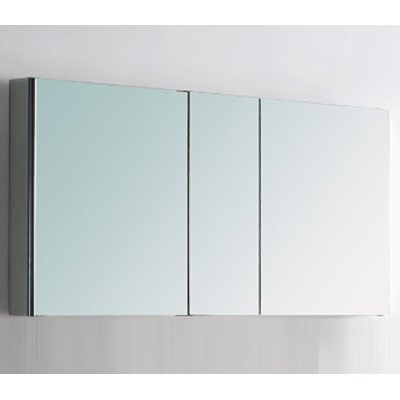 "Fresca 50"" x 26"" Surface Mount / Recessed Medicine Cabinet"