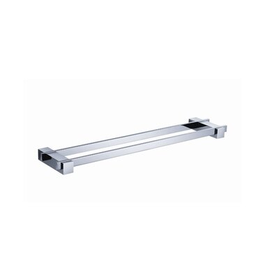 "Fresca Ellite 19.75"" Wall Mounted Double Towel Bar"