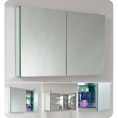 "Fresca 39.5"" x 26.13"" Medicine Cabinet"