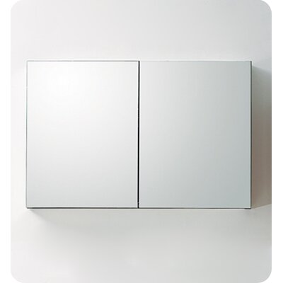 Fresca Large Bathroom Medicine Cabinet with Mirrors