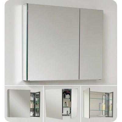 Fresca Medium Bathroom Medicine Cabinet with Mirrors