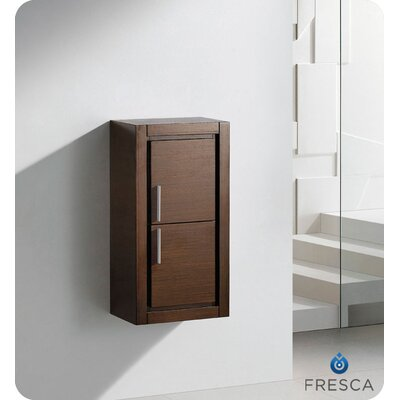 Fresca Bathroom Linen Side Cabinet with 2 Doors