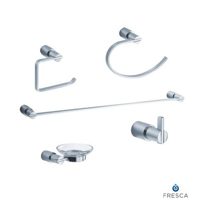 Fresca Magnifico 5 Piece Bathroom Accessory Set