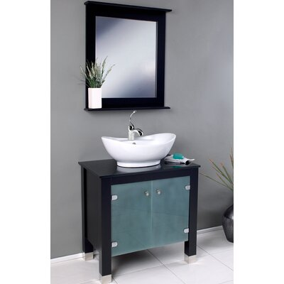 Contemporary Italian Bathroom Vanity Set Design Element