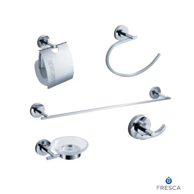 Fresca Alzato 5 Piece Bathroom Hardware Set