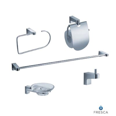 Fresca Generoso 5 Piece Bathroom Accessory Set