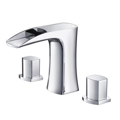 Fresca Fortore Double Handle Widespread Vanity Faucet