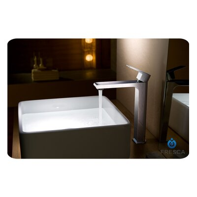 Allaro Single Handle Deck Mount Vessel Faucet - FFT9152CH