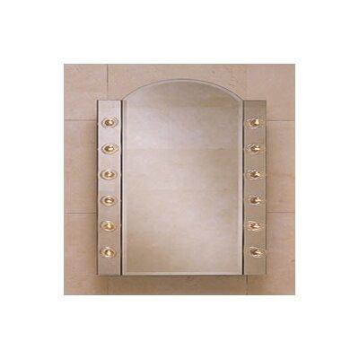 "Robern  PL Series 23.25"" x 34"" Flat Edge Beveled Edge Medicine Cabinet"