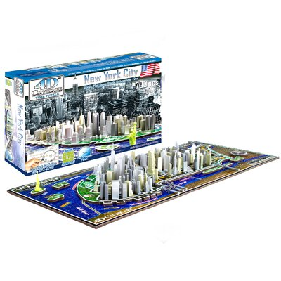 4D CityScape INC New York Time Puzzle